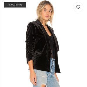 1. State Jackets & Coats - NWT 1. State black velvet tuxedo jacket blazer